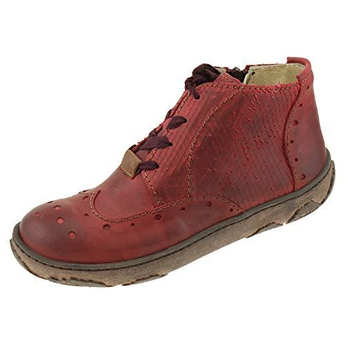 Rovers damesschoenen laarzen Portland Portland Needles Bordeaux rood 58006