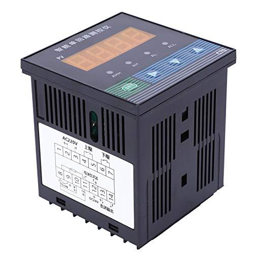 Controlador de bucle único, controlador de circuito único Plástico inteligente de alto brillo con cuatro funciones de alarma para piscina para sumidero para jarra para pozo de captura