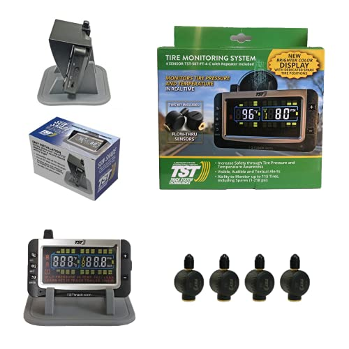 Truck System Technologies - TST 507 RV TPMS with Color Display - Tire Pressure Monitoring System for...