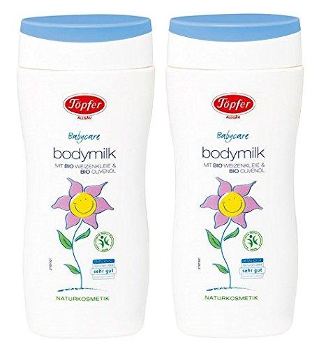 Töpfer Babycare Bodymilk Lotion, 2er pack (2 x 200ml)