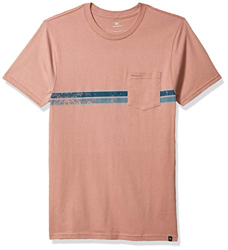 Rip Curl Costa Standard Issue - Camiseta para hombre -  Rojo -  Medium