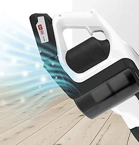 Bosch Unlimited Serie 8 Scopa Elettrica Ricaricabile, Aspirapolvere Multifunzione senza Fili e senza Sacco con due Batterie Intercambiabili Bosch Power For ALL, Bianco