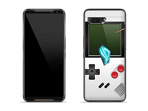 etuo Hülle für Asus ROG Phone 2 - Hülle Fantastic Hülle - Weißes Game Boy Handyhülle Schutzhülle Etui Hülle Cover Tasche für Handy