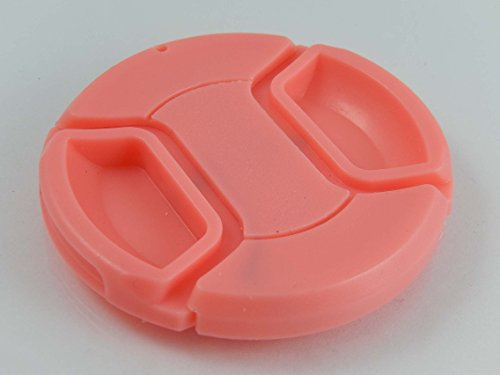 vhbw Tapa de Objetivo Rosa plástico 67mm para Lentes de cámaras Tamron 28-300 mm F3.5-6.3 Di VC PZD