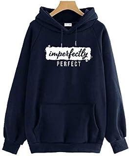 THE SV STYLE Unisex Hoodie with Print: IMPERFECTLY Perfect/Printed Hoodie/Hoodie for Men & Women/Warm Hoodie/Unisex Hoodie