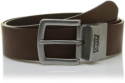 Levi´s Gürtel Herrengürtel Ledergürtel Jeansgürtel Braun 5254, Farbe:Braun, Länge:115 cm