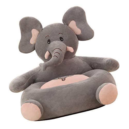 PETSOLA Niedliche Tiere Sitzsackhülle Sitzsack Bezug Hülle - Elefant