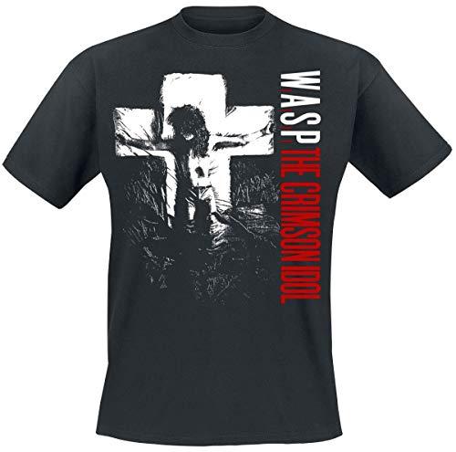 W.A.S.P. The Crimson Idol Männer T-Shirt schwarz L 100% Baumwolle Band-Merch, Bands