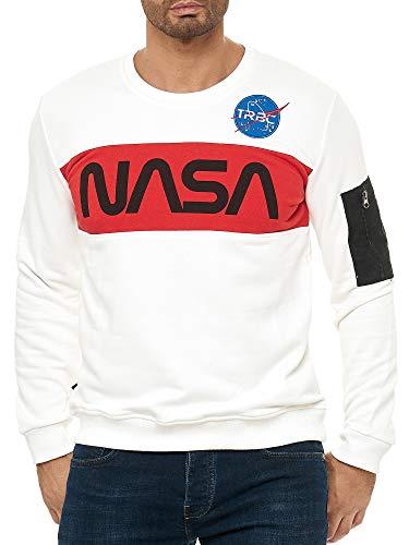 Razzo spaziale della NASA Luna astronauta Uomini Donne Unisex Top Felpa Con Cappuccio Felpa 1500