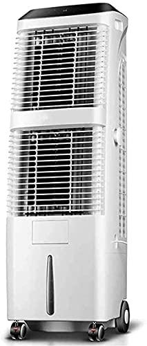 DTWC Refrigerador portátil del Enfriador de Aire Enfriadores de Aire evaporativos con humidificador y purificador Funciones 3 velocidades de Viento para la Sala de Estar