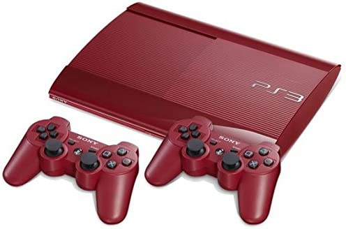 PlayStation 3 - Console 500 GB, Red con 2 DualShock 3, Red [Bundle]