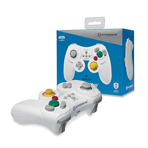 Hyperkin ProCube Wireless Controller for Wii U (White)