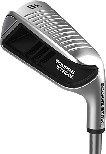 Square Strike Wedge, Black -Left Hand Pitching & Chipping Wedge for Men & Women -Legal for Tournament Play -Engineered by Hot List Winning Designer -Cut Strokes from Your Golf Game Fast