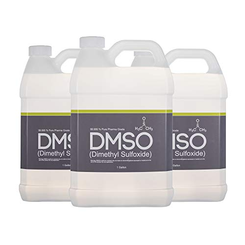 3 Gallons of 99.995% Pharma Grade Dimethyl Sulfoxide, BPA FREE, Low Odor, non diluted