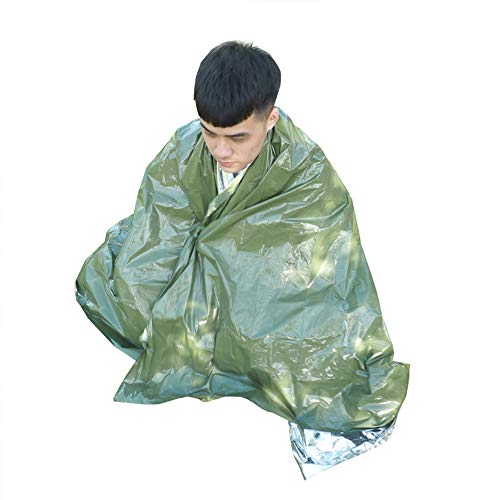 N A 10 Packs Emergency Blankets, Mylar Thermal Solar Blankets for Maximum Protection, Keep Heat Out, Best for Your Survival Kit, Car Kits, Outdoors or First Aid
