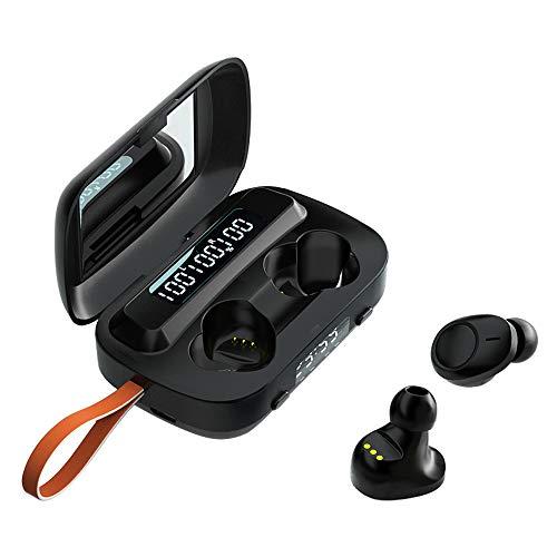 Topuality Wireless LED Display Earphones BT5.1 Headphones HiFi Sound...
