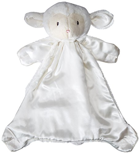 Baby GUND Lopsy Lamb Huggybuddy Stuffed Animal Plush Blanket