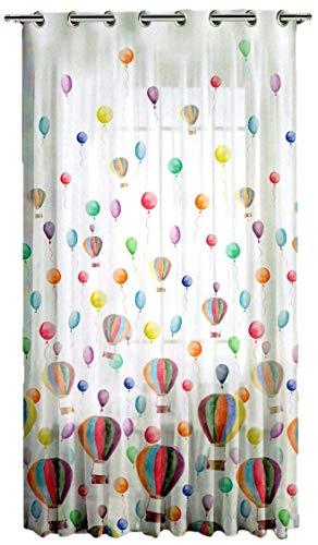 Cortinas para habitación infantil/bebe/Niños, 140 x 290 cm, cortinas confeccionadas con ojales.