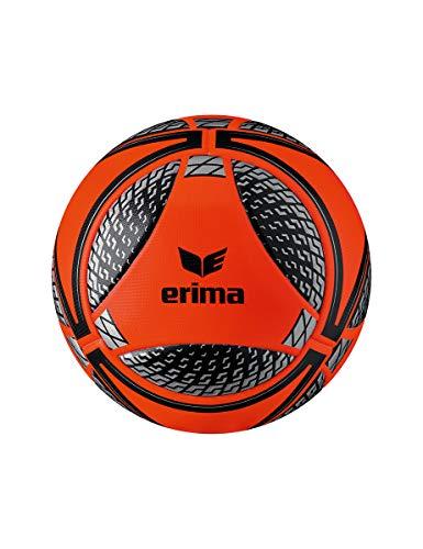 Erima Senzor Match Fluo, Palloni da Calcio Unisex-Adult, Fiery-Corel, 5