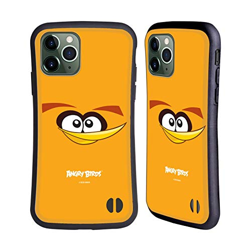 Head Hülle Designs Offiziell Offizielle Angry Birds Bubbles Volles Gesicht Hybride Handyhülle Hülle Huelle kompatibel mit Apple iPhone 11 Pro