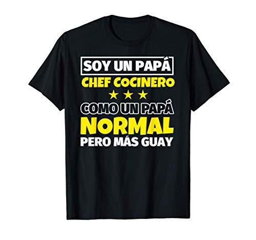 Hombre Chef Cocinero Papá Regalo Camiseta