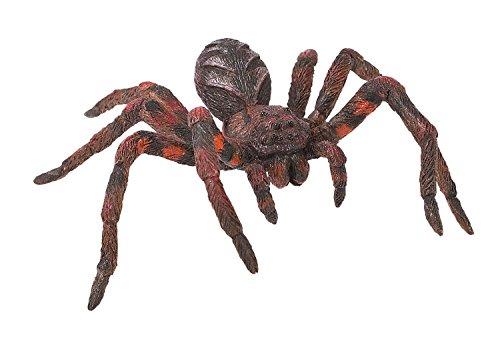 Bullyland 68430 - figurka do zabawy, pająk wilczy, ok. 4 cm, idealna jako figurka na tort, wierna w szczegółach, bez PCW, wspaniały prezent dla dzieci do fantazyjnej zabawy