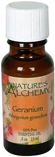 Nature's Alchemy Essential Oil, Geranium (Pelargonium Graveolens), 0.5 oz (15 ml)