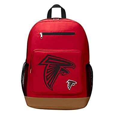 The Northwest Company NFL Atlanta Falcons Playmaker Backpack Playmaker Backpack, Red, One Size