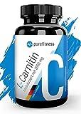 ULTRA HOCHDOSIERT - L Carnitin Rein & Laborzertifiziert I 3000 mg - Tagesportion I Vegan mit...