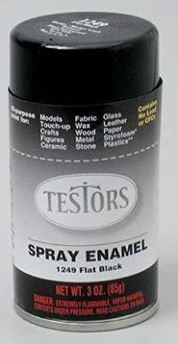 testors paint black flat - 5
