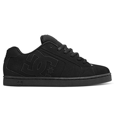 DC Shoes Mens Shoes Net - Low-Top Shoes - Men - 12.5 - Black Black/Black/Black 12.5