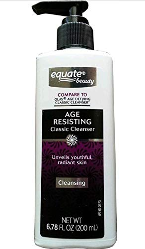 Equate Beauty Classic Cleanser Age Resisting