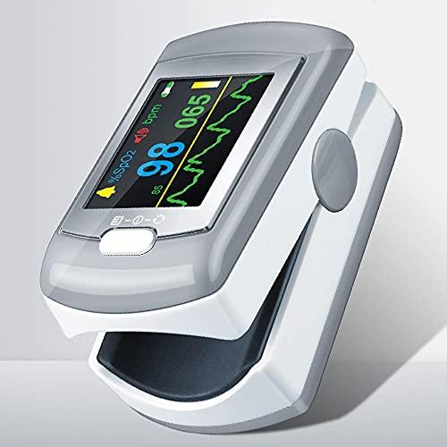 Medidor Saturación Oxigeno Bluetooth, Saturador Oxigeno Dedo Profesional para sueño para el Seguimiento de Bajo Nivel de SpO2 y Alta o Baja frecuencia cardíaca con el Informe de Aplicación PC