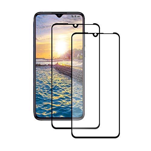 LPCJ [2Piezas, Xiaomi Mi 9 Lite Protector de Pantalla, Cristal Templado Vidrio Templado Película para Xiaomi Mi 9 Lite