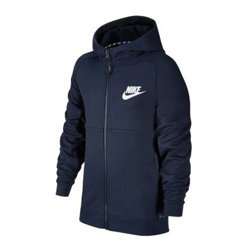 Nike Kinder Advance 15 Trainingsjacke Jacke, blau, XS - 122-128 cm
