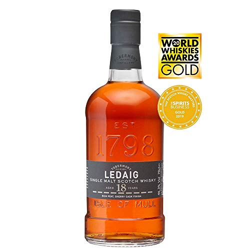 Ledaig 18 Years Old Limited Release in Scotch Whisky (1 x 0.7 l)
