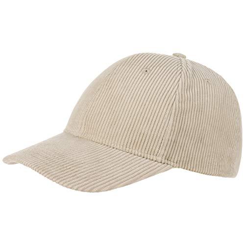 Gorra básica de béisbol de pana Beige chiaro Talla única