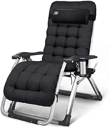 Leichte Liegestuhl Liegestüler Falten Recliner, Einstellbar Null Gravity Folding Recliner Forbeach Sun Camping Garten Angeldeck Liegestuhl Mittagspause Lazy Couch Zurück Lazy Lounge Chair