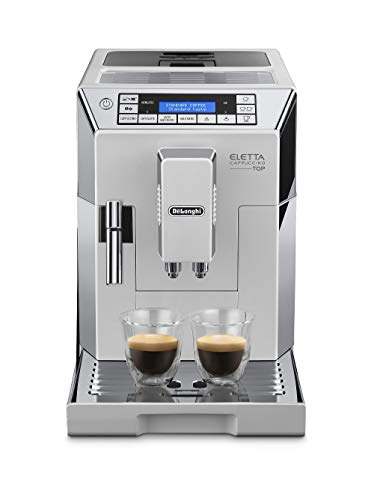 De'Longhi Eletta Cappuccino, Fully Automatic Bean to Cup Machine, Espresso, Coffee Maker, ECAM...