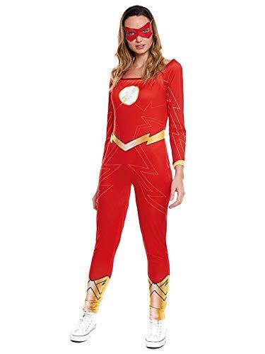 Partylandia Disfraz de Super Heroina Fugaz - Mujer, M
