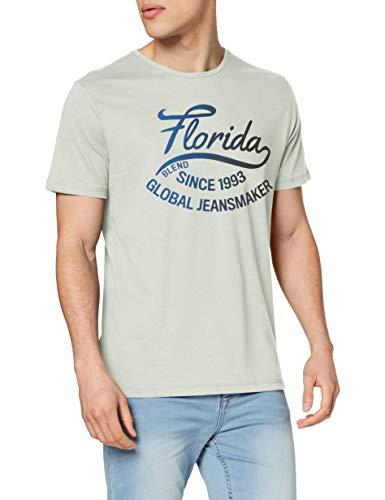 Blend Herren Tee T-Shirt, Grün (Spray Green 77239), (Herstellergröße: XX-Large)