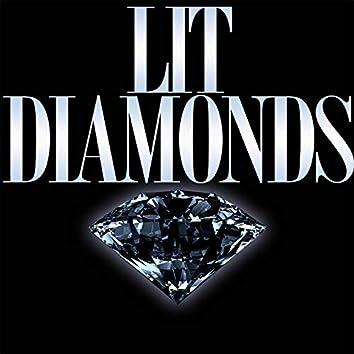 Lit Diamonds