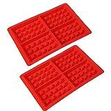 Backform, Muffinform Sichere, ungiftige Schokoladen-Quadratform für Heimküche, Konditorei, Dessertladen