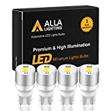 2012 Ford Fusion License Plate Light Bulbs - Alla Lighting Newest 194 LED Bulbs Extremely Super Bright T10 168 W5W 2825 175 158 CANBUS Replacement 12V 1616 SMD Car License Plate Light Interior Map Dome Door Lights, 6000K Xenon White