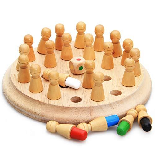 YIDOU Niños Memory Stick Juego de ajedrez Juguetes educativos Brain Training Regalos