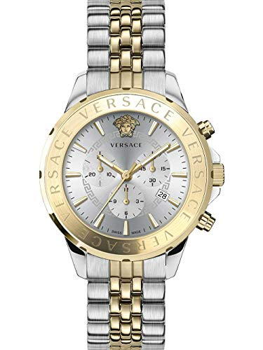 Versace VEV600519 Chrono Signature heren horloge chronograaf 44 mm