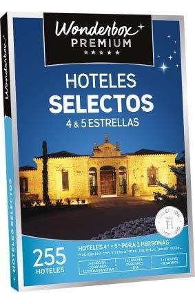 WONDERBOX Caja Regalo -HOTELES SELECTOS- 255 hoteles seleccionados de 4* y 5* para Dos Personas