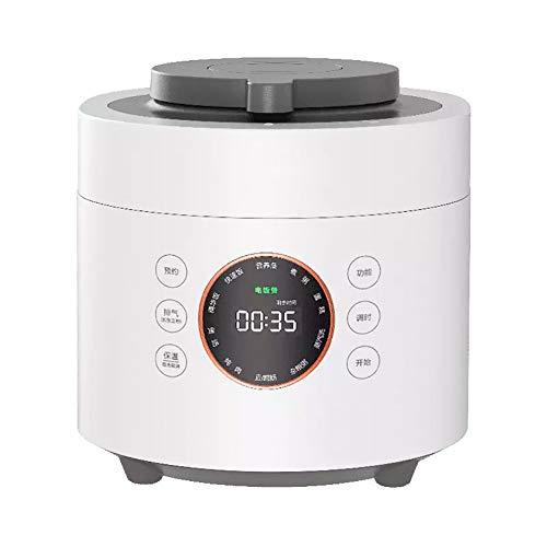XIAOFEI Lent Cuisinier Autocuiseur Électrique Fonction Électrique Pression Cuisinier Multi Cuisinier Garde Nourriture Chaud 24 Heure Garder Chaud Fonction 4L