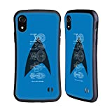Head Case Designs Officially Licensed Star Trek Delta Complete Ships of The Line Hybrid Case Compatible with Apple iPhone XR