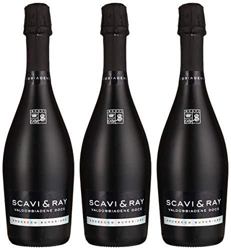 Scavi & Ray Prosecco Superiore Glera Extra trocken (3 x 0.75 l)
